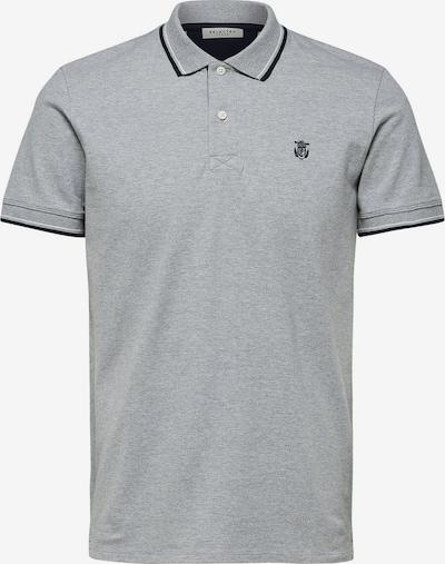 SELECTED HOMME Poloshirt in grau, Produktansicht