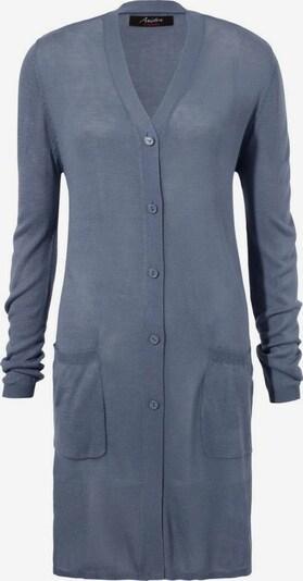 Aniston CASUAL Strickjacke in blue denim, Produktansicht