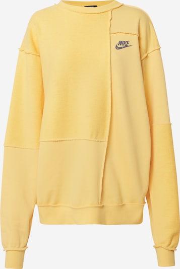 Nike Sportswear Mikina 'W NSW ICN CLSH CREW FLC' - žlté, Produkt