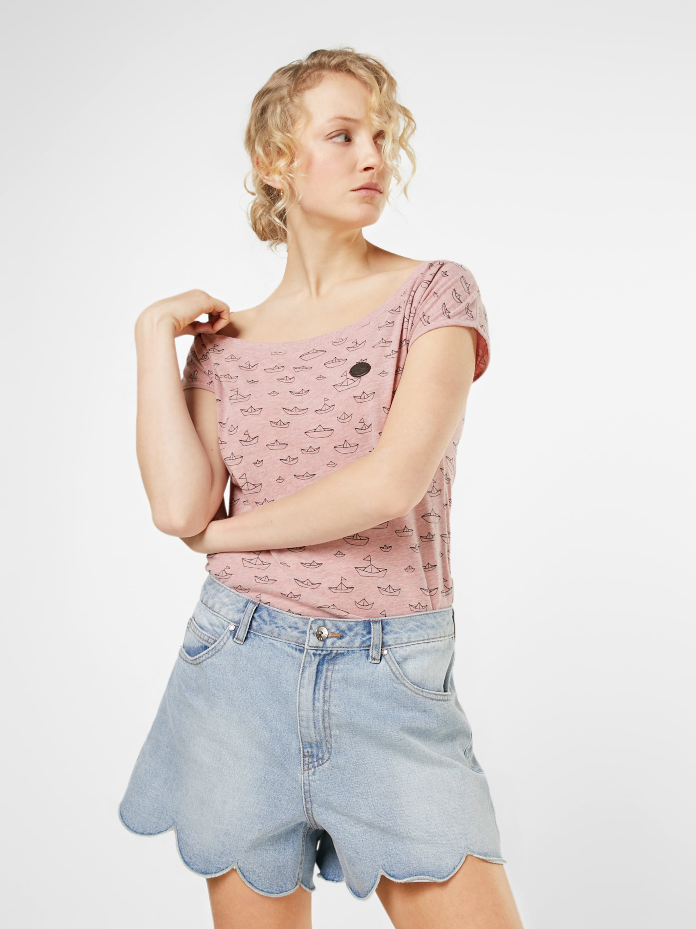 Ancienne En shirt T Rose Naketano jMpGLSVqUz