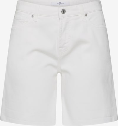 7 for all mankind Džinsi 'BOY SHORTS COLORED TWILL' pieejami balts džinsa, Preces skats