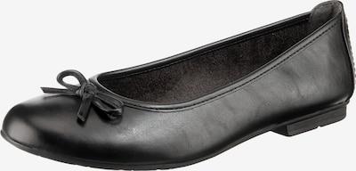 JANA Klassische Ballerinas in schwarz, Produktansicht