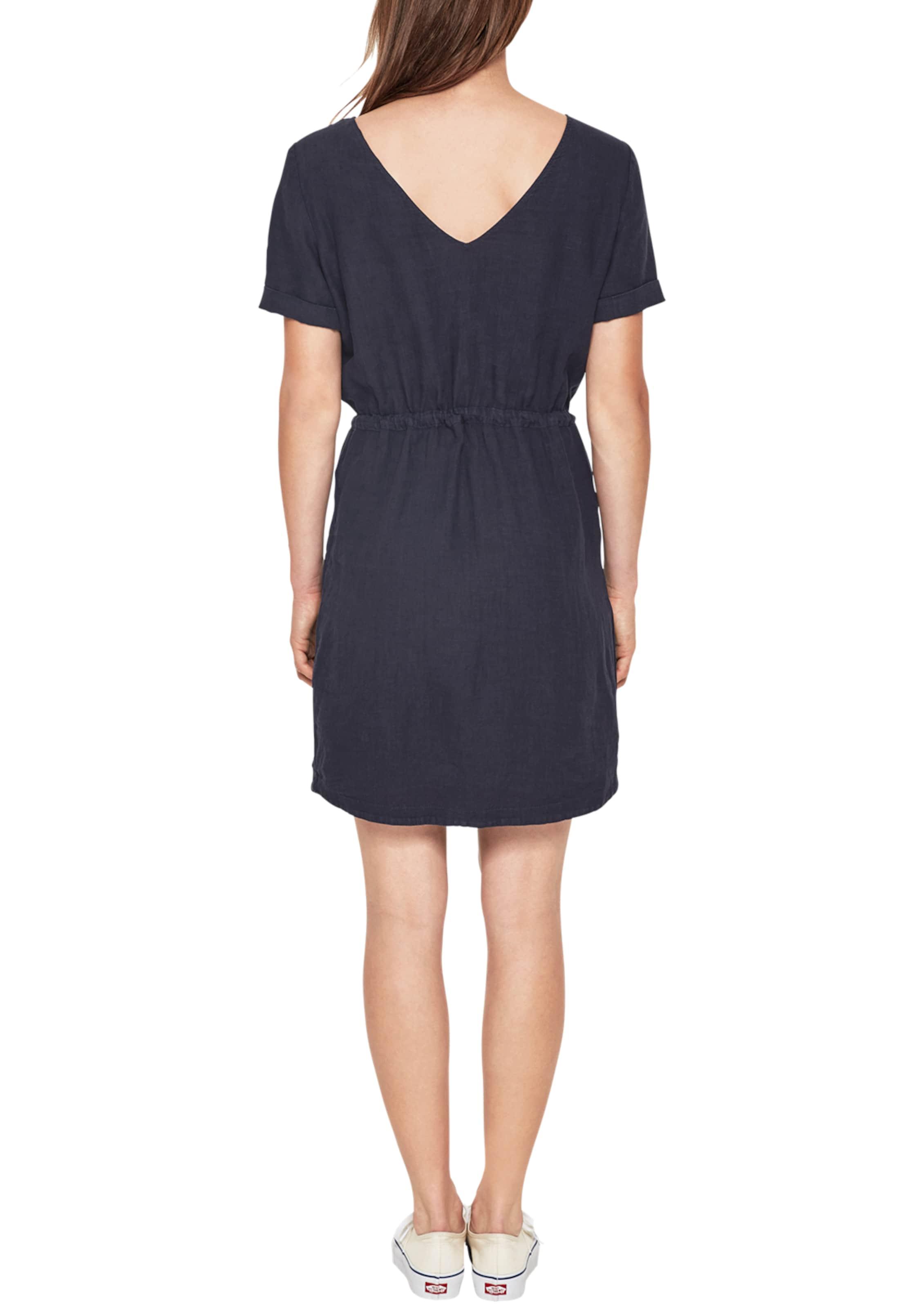S Kleid Label Red oliver Nachtblau In nO0vN8wm