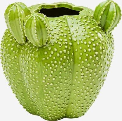 KARE Design Vase 'Kaktus' in hellgrün, Produktansicht