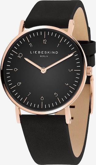 Liebeskind Berlin Uhr in gold / schwarz, Produktansicht