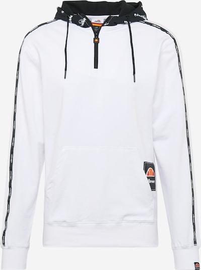 ELLESSE Bluzka sportowa 'TREBIA' w kolorze czarny / białym, Podgląd produktu