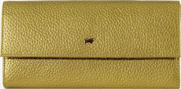 Braun Büffel Lederbörse 'ALESSIA' in Gelb