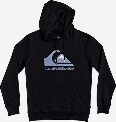 QUIKSILVER Sportovní mikina - modrá / černá, Produkt