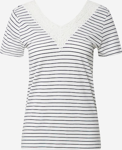 VERO MODA Shirt 'VMHELA SS TOP JRS GA' in blau / weiß, Produktansicht