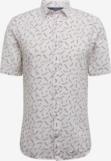 Only & Sons Hemd 'onsCAIDEN SS AOP LINEN SHIRT RE' in weiß, Produktansicht