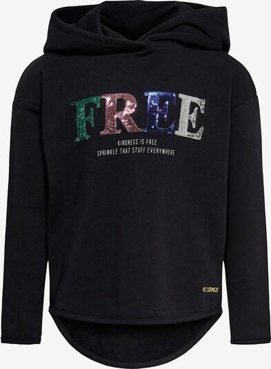 KIDS ONLY Sweatshirt 'Neo' in mischfarben / schwarz, Produktansicht