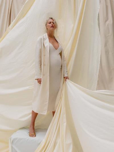 LeGer by Lena Gercke Mantel 'Lilian' in beige, Modelansicht