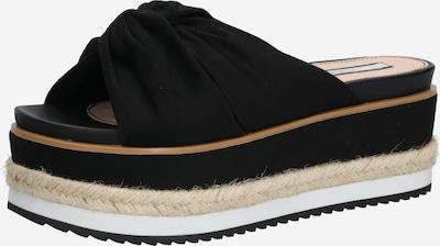 Pepe Jeans Muiltjes 'WICK BASS' in de kleur Beige / Zwart, Productweergave