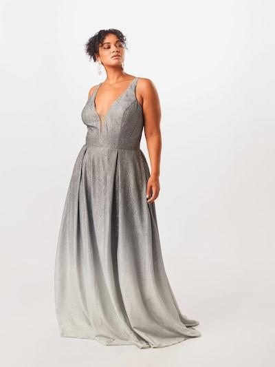My Mascara Curves Společenské šaty 'OMBRE FLOW' - šedá, Model/ka