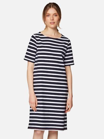 Mavi Kleid ' EASY JERSEY DRESS ' in dunkelblau / weiß, Modelansicht