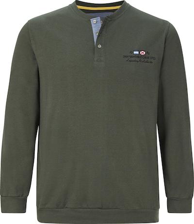 Jan Vanderstorm Sweat-shirt en vert, Vue avec produit