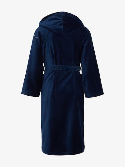 TOM TAILOR Peignoir long en bleu marine, Vue avec produit