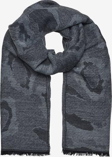 JACK & JONES Sjaal in de kleur Grijs / Donkergrijs / Zwart, Productweergave