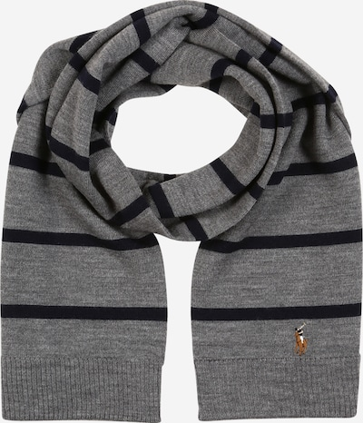 POLO RALPH LAUREN Scarf in grey mottled / black, Item view