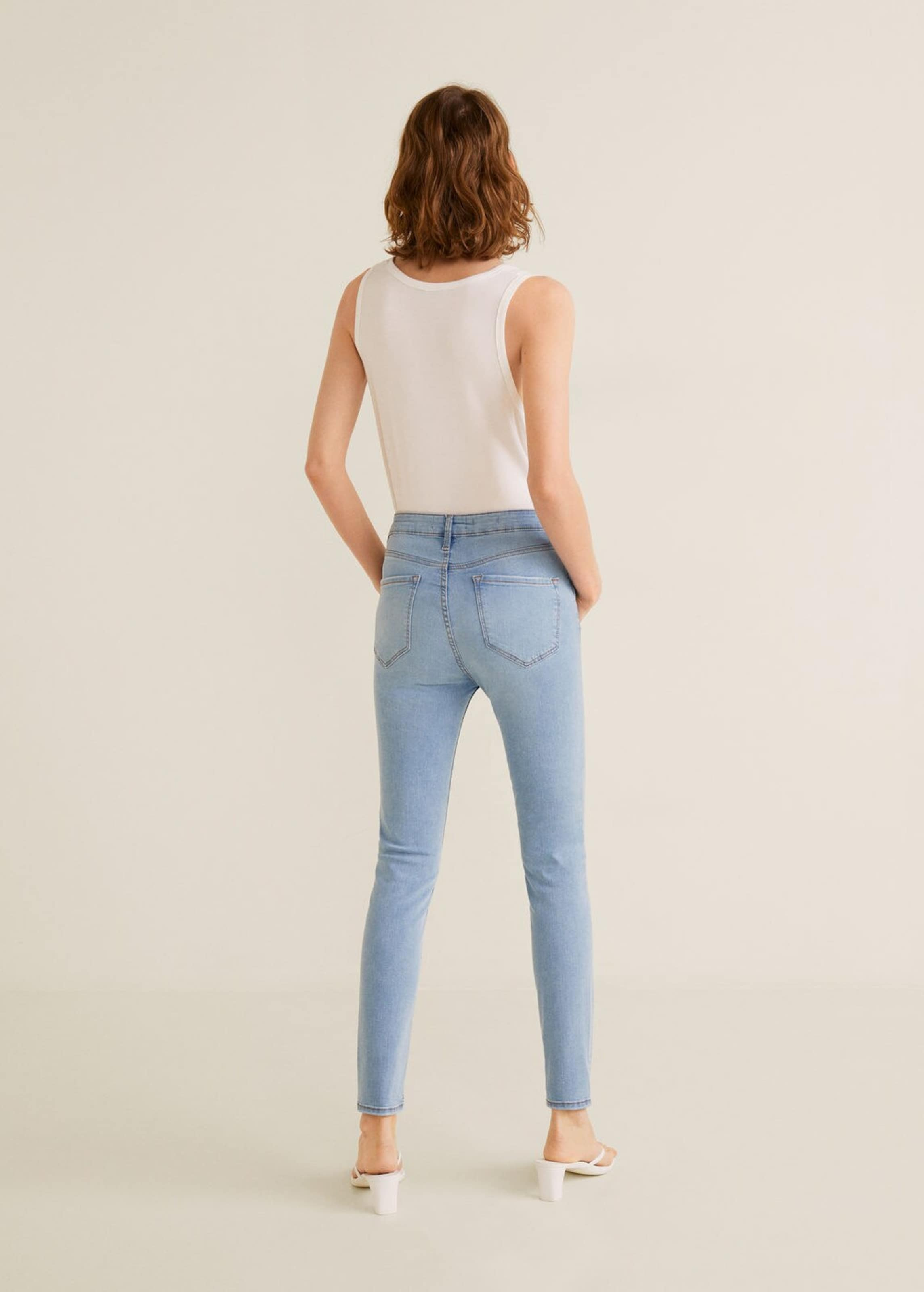 Jeans Mango 'noa' Blue Denim In Nv80wmn