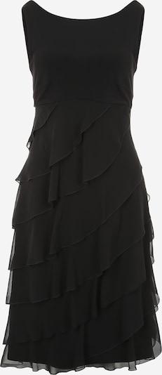 SWING Kleid mit Volants aus Chiffon in schwarz, Produktansicht