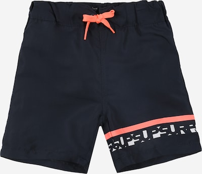 NAME IT Badeshorts in nachtblau / pink / weiß, Produktansicht