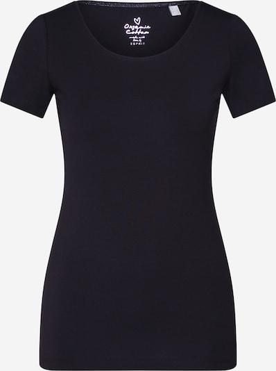 ESPRIT T-shirt 'CORE NOOS OCS T' en noir, Vue avec produit