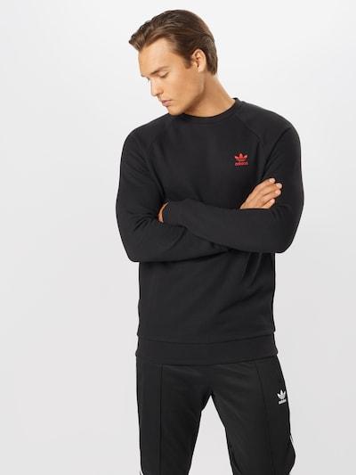 ADIDAS ORIGINALS Majica 'Essential'   črna barva, Prikaz modela