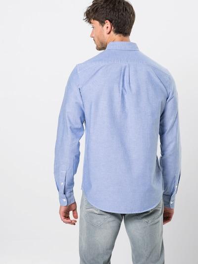 GAP Koszula 'V-OXFORD STANDARD' w kolorze jasnoniebieskim: Widok od tyłu