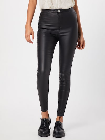 Missguided Jean 'VICE' en noir: Vue de face