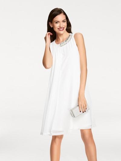 heine Kleid in silber / weiß, Modelansicht