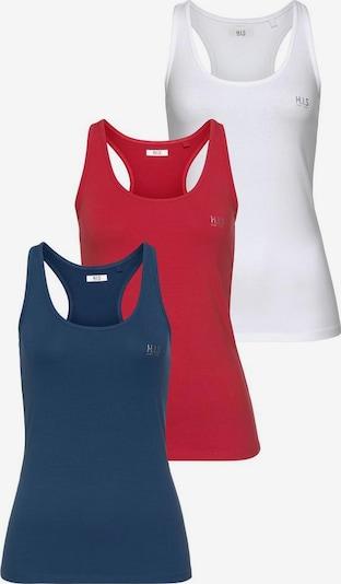 H.I.S Tops in blau / rot / weiß, Produktansicht