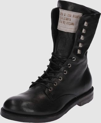 A.S.98 Boots 'SAMURAI' in Zwart