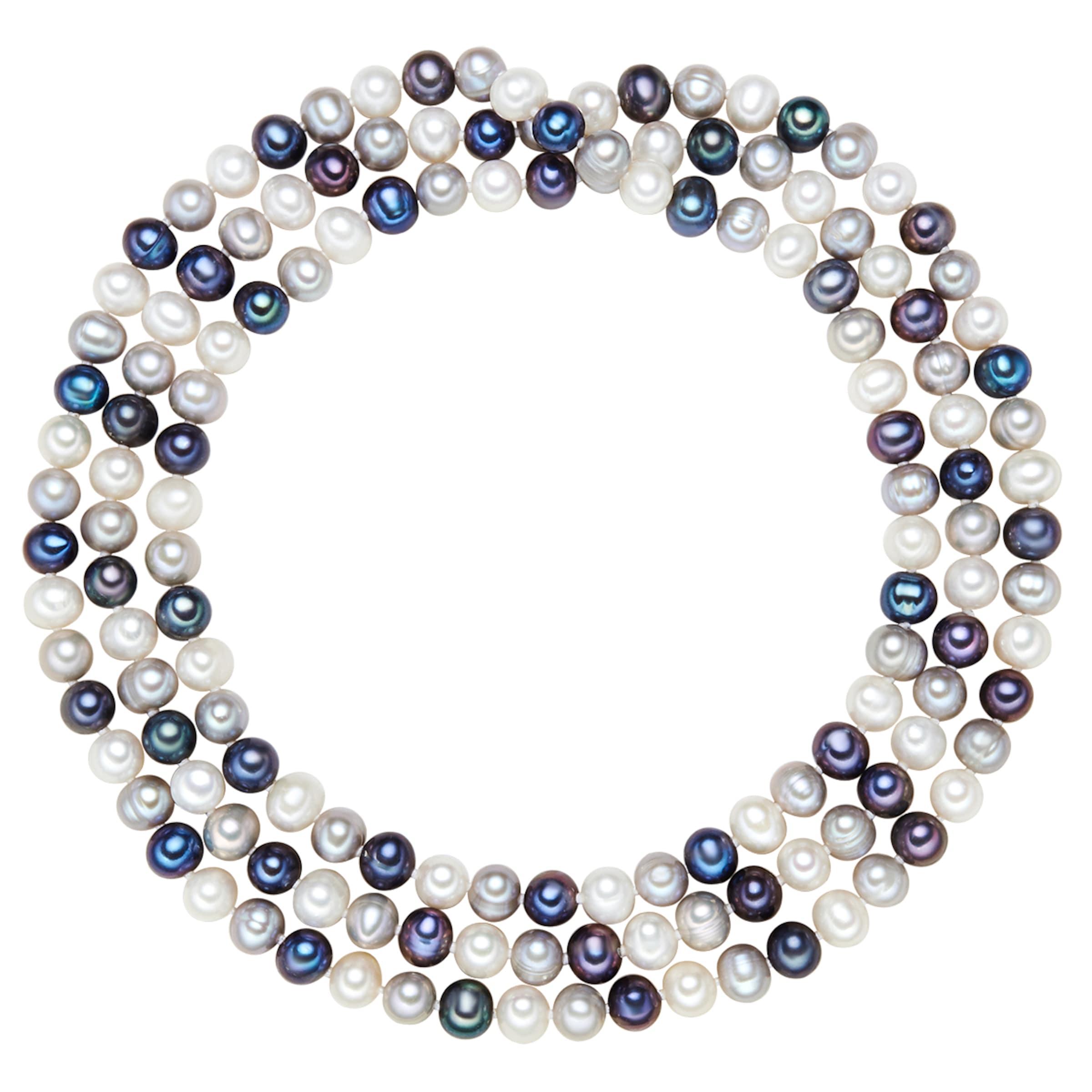 S眉脽wasser Valero Valero Kette Zuchtperlen Pearls mit Pearls UxXwX4fZFq