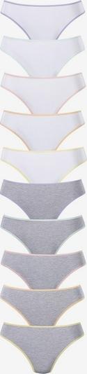 GO IN String in grau / weiß, Produktansicht
