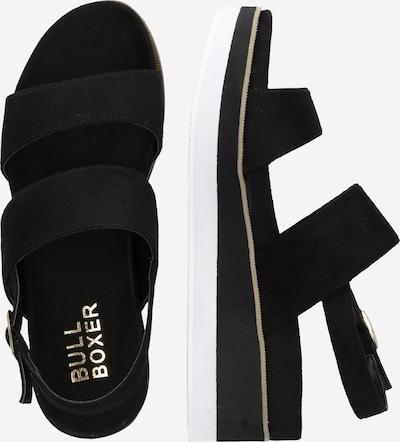BULLBOXER Sandale in schwarz: Seitenansicht