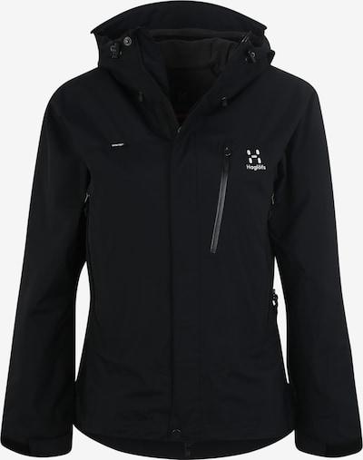 Haglöfs Outdoorjas 'Astral' in de kleur Zwart, Productweergave