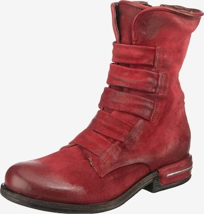 A.S.98 Stiefelette in rot, Produktansicht