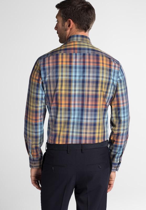 30b3f596a3c996 ... ETERNA Hemd in blau mischfarben Markenkleidung Markenkleidung  Markenkleidung für Männer und Frauen bcc490 ...