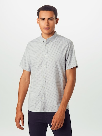 BURTON MENSWEAR LONDON Koszula w kolorze szarym, Podgląd na modelu(-ce)