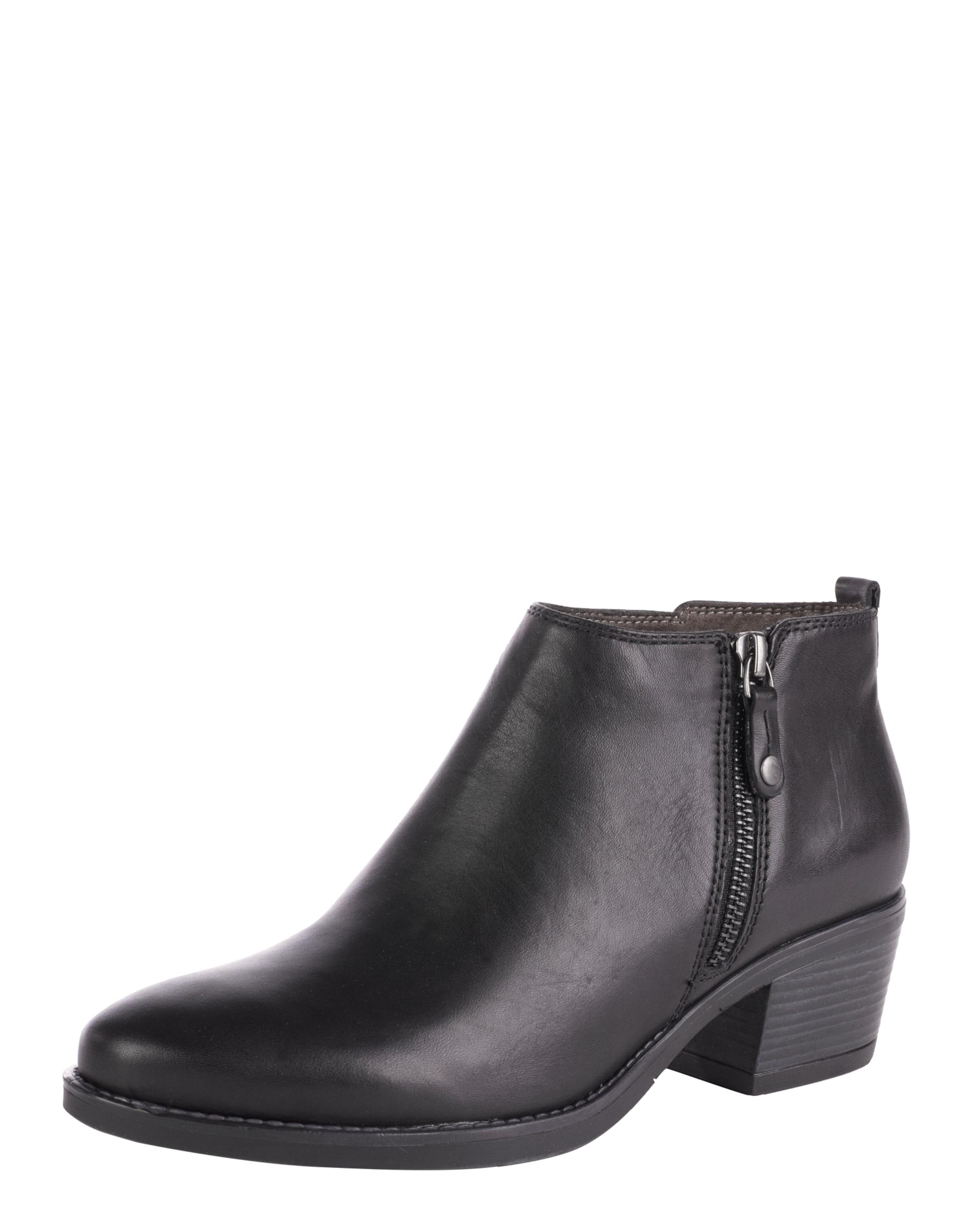 TAMARIS Ankleboots aus Leder Verschleißfeste billige Schuhe