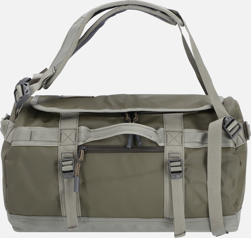 THE NORTH FACE Reisetasche 'Base Camp' in grau / khaki: Frontalansicht