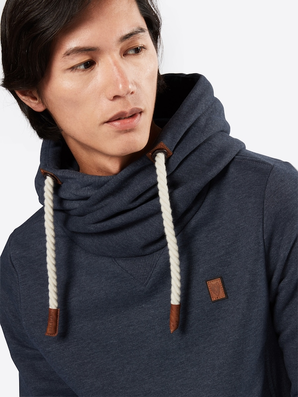 naketano Kapuzensweater 'Pommes im Weltall IX'