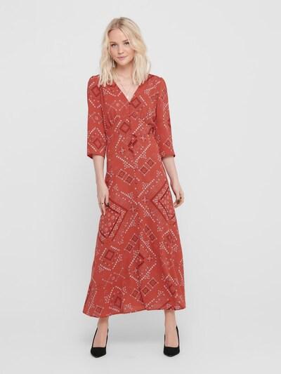 ONLY Midikleid in rot, Modelansicht