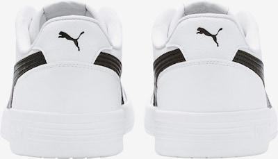 PUMA Sneaker 'Caracal' in schwarz / weiß: Rückansicht
