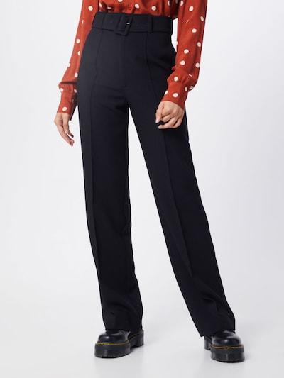 Kelnės su kantu iš IVYREVEL , spalva - juoda, Modelio vaizdas