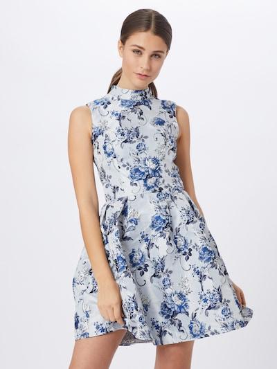 Chi Chi London Kleid 'Chi Chi Elowen Dress' in blau / mischfarben, Modelansicht