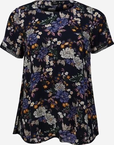 Zizzi Bluse in indigo / mischfarben, Produktansicht