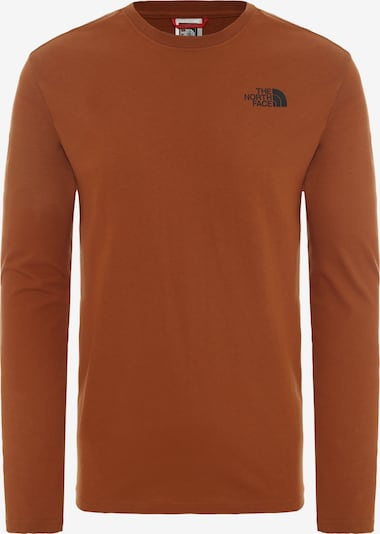 THE NORTH FACE Shirt 'Red Box' in rostbraun, Produktansicht