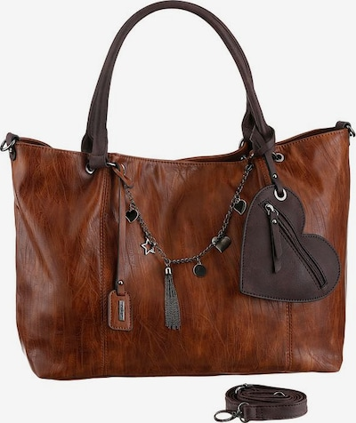 RIEKER Crossbody Bag in Brown / Light brown, Item view